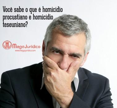 homicidio procustiano e homicidio teseuniano