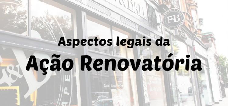 renovação da locação empresarial